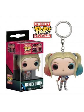 Llavero mini Funko Pop Harley Quinn Suicide Squad