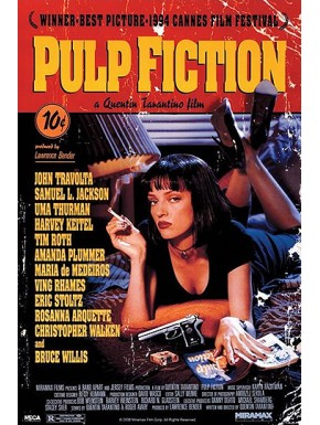 Poster Pulp Fiction cover