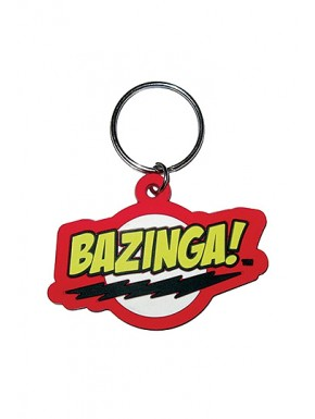 Llavero caucho Bazinga Big Bang Theory