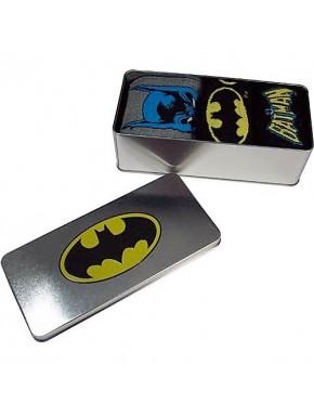 Lata 3 pares calcetines Batman