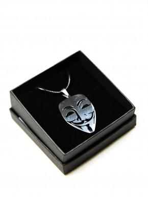 Colgante acero máscara V de Vendetta