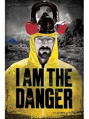 Poster Breaking Bad I am the danger
