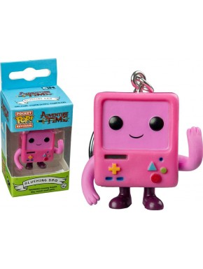 Llavero Mini Funko Pop! Bmo rosa Hora de aventuras