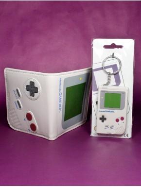 Pack Game Boy cartera y llavero