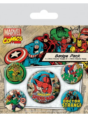 Spider Man Chapas Retro