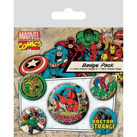 Spider Man Chapas Retro