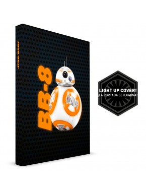 Star Wars Libreta con Luz BB-8