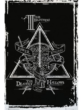 Poster Harry Potter Deathy Hallows