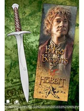 Bolígrafo y marcápaginas espada Bilbo