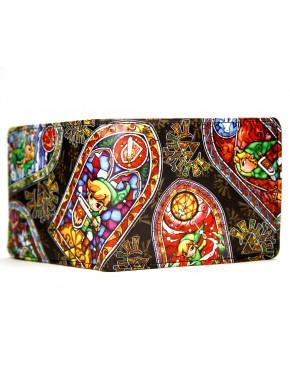 Cartera Zelda vidriera mosaico