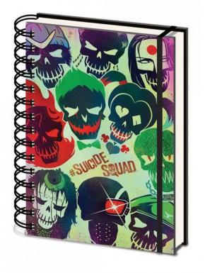 Cuaderno espiral A5 Suicide Squad