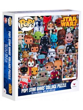 Star Wars Funko Puzzle Collage