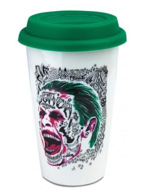 Taza  viaje Joker Suicide Squad