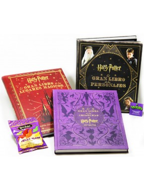 Pack libros mágicos Harry Potter