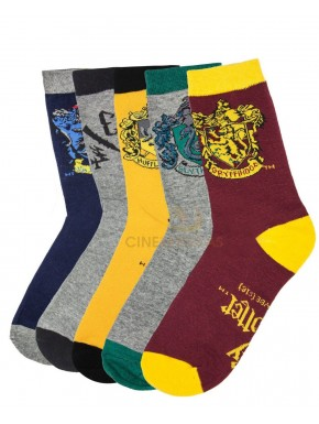 Harry PotterPack 5 pares calcetines