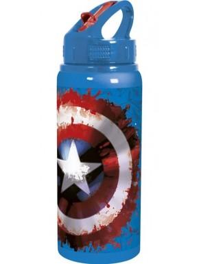 Marvel botella aluminio Capitán América