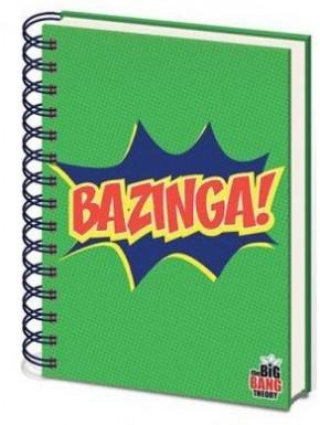 Cuaderno espiral A5 Bazinga