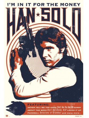 Poster Han Solo Star Wars