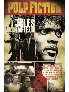 Poster Pulp Fiction Julius