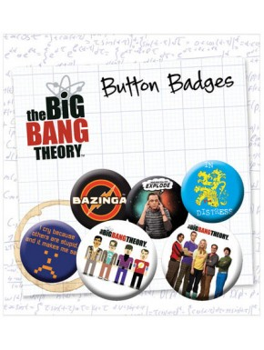 Chapas Big Bang Theory Icons