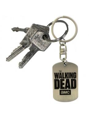 Llavero Walking Dead chapa metálica