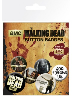 Chapas Mix Walking Dead