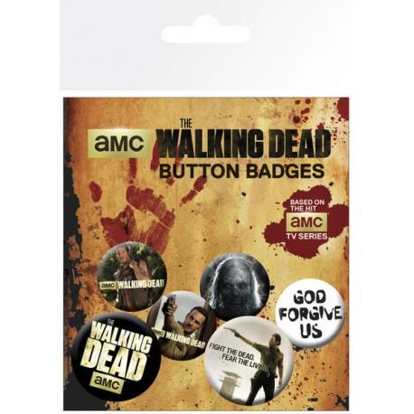 Chapas Mix Walking Dead