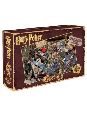 Harry Potter Puzzle Mapa Horcruxes