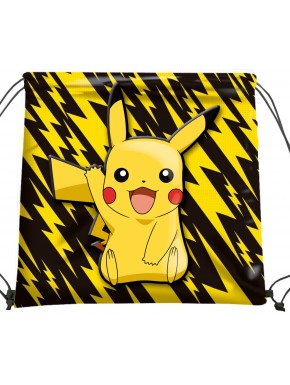 Bolsa de Tela Pokemon Pikachu