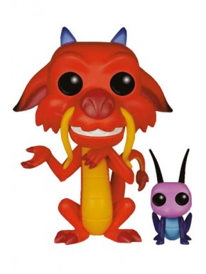 Funko Pop Mulan Mushu & Cricket