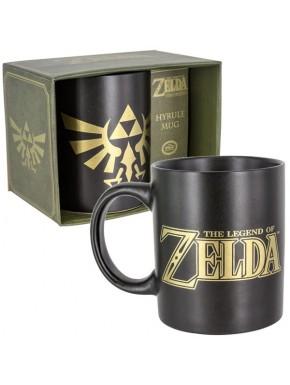 Taza Zelda trifuerza negra