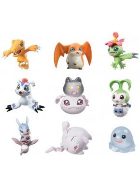 Digimon Adventure Digicolle Figuras Sorpresa 6cm