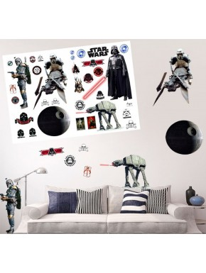 Set vinilos adhesivos gigantes Star Wars