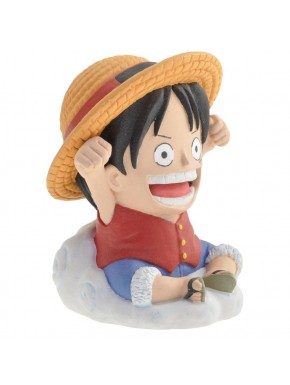Hucha Luffy nube One Piece 10cm