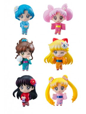 Sailor Moon Petit Chara sorpresa Let's go to festival