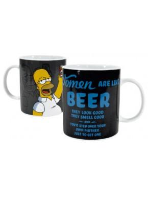 Taza Gigante Los Simpson Women