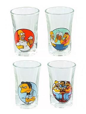 Vasos chupito Los Simpson