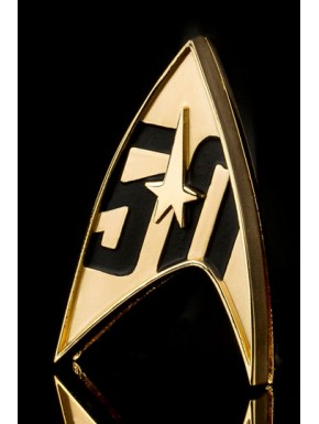 Replica 1:1 distintivo flota Star Trek 50º Aniv