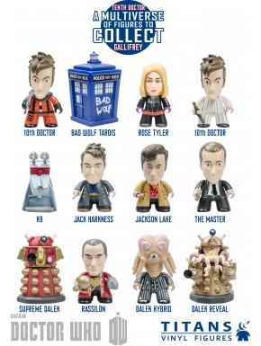Figuras Sorpresa 10º Doctor Who Titanes