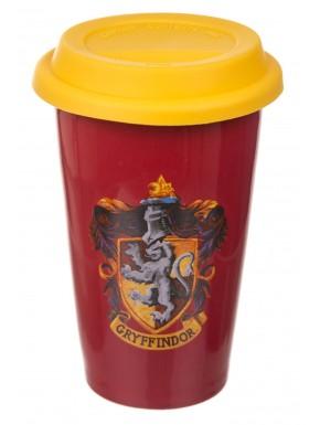 Vaso taza viaje Harry Potter Gryffindor