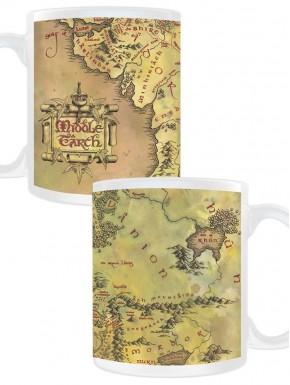 Taza Mapa Tierra Media El Señor de los Anillos