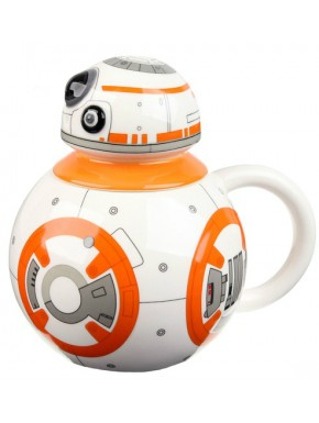 Taza con tapa Star Wars BB-8