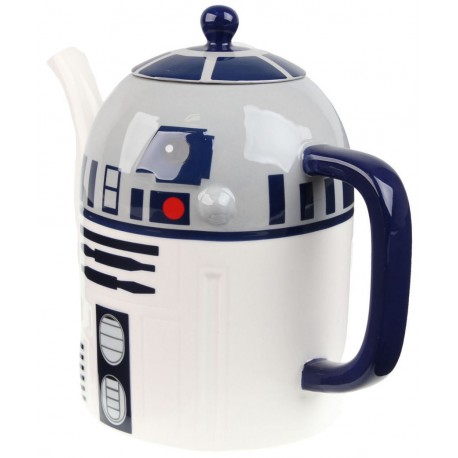 Tetera cerámica Star Wars R2D2 long