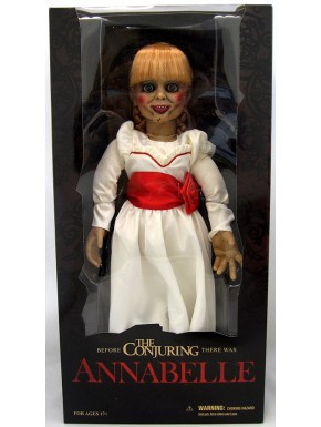 Muñeca Annabelle escala 1:1 Expediente Warren