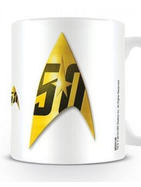 Taza Star Trek Insignia 50 Aniv