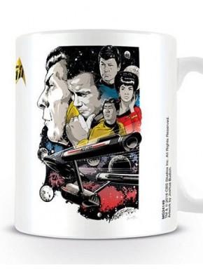 Taza Star Trek Boldy Go 50 Aniv