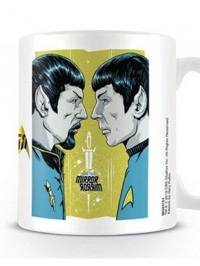 Taza Star Trek Mirror 50 Aniv