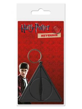 Llavero caucho Harry Potter Reliquias