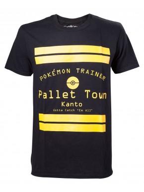 Camiseta Pokemon Pallet Town