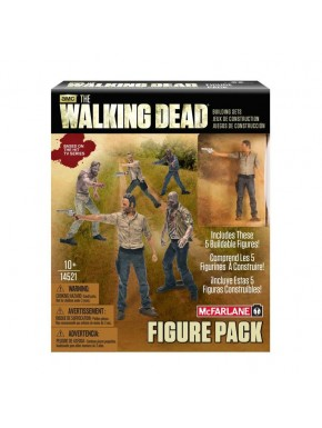 Kit de 5 miniaturas Walking Dead
